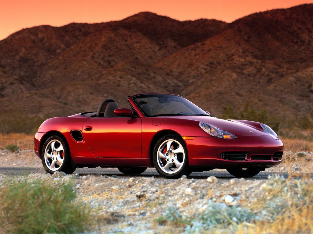 Porsche Boxster фото.