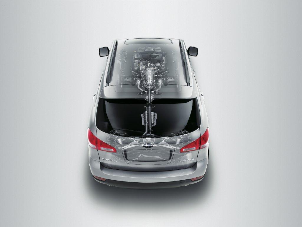 Фото автомобиля Subaru Tribeca…