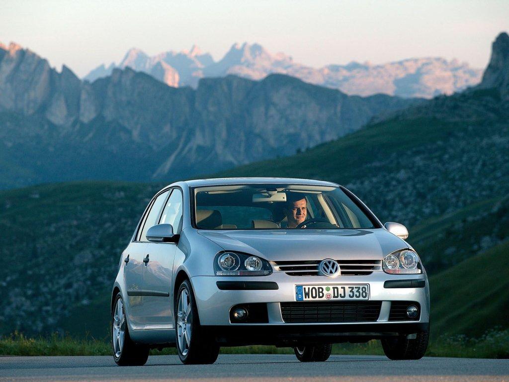 Фотографии Volkswagen Golf (2004-200…