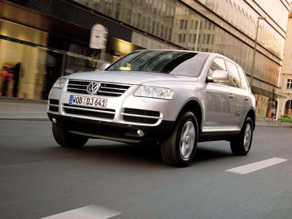 Volkswagen Touareg.  Случайное.