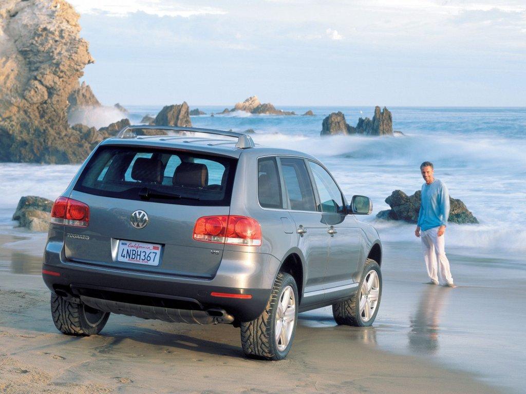 Volkswagen Touareg 2003 года.