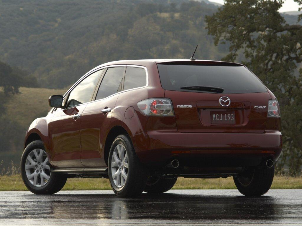 фото Mazda CX 7.