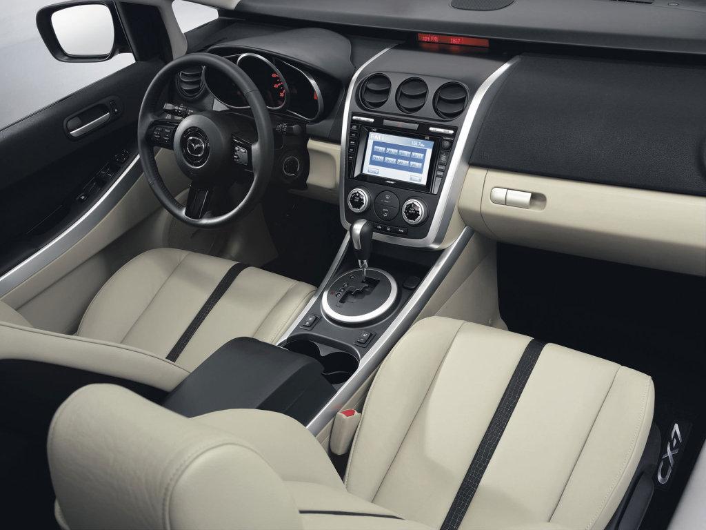 Европейская премьера Mazda CX-7.