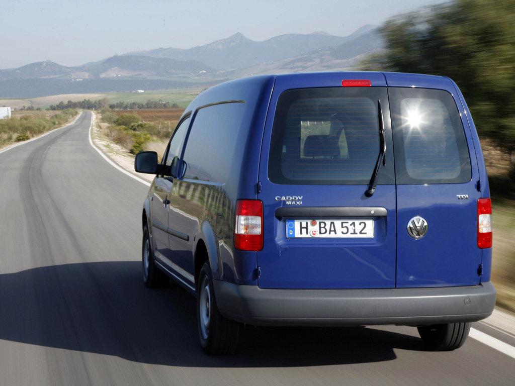 Volkswagen Caddy Maxi Kasten.