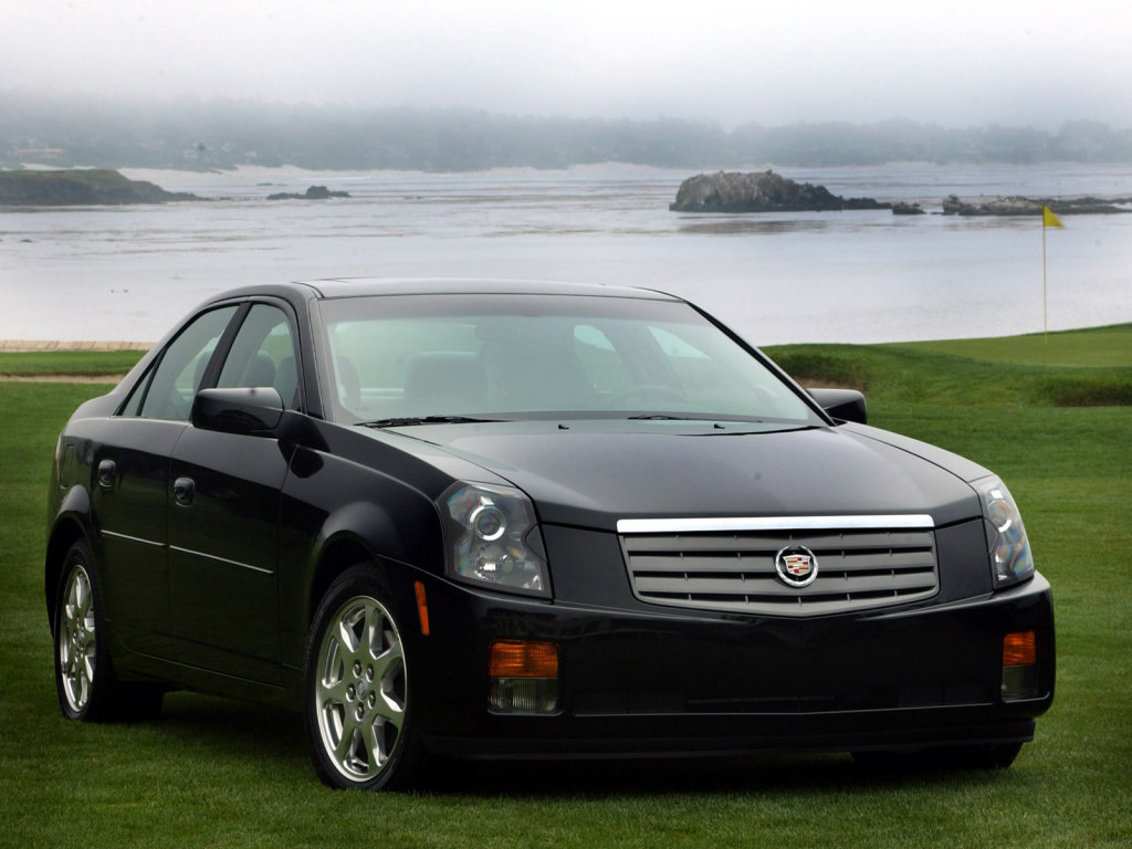 Cadillac CTS photos.