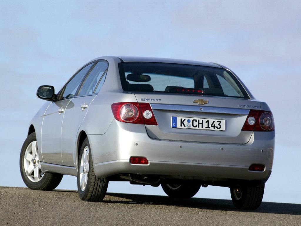 Chevrolet Epica фото.  Новости.