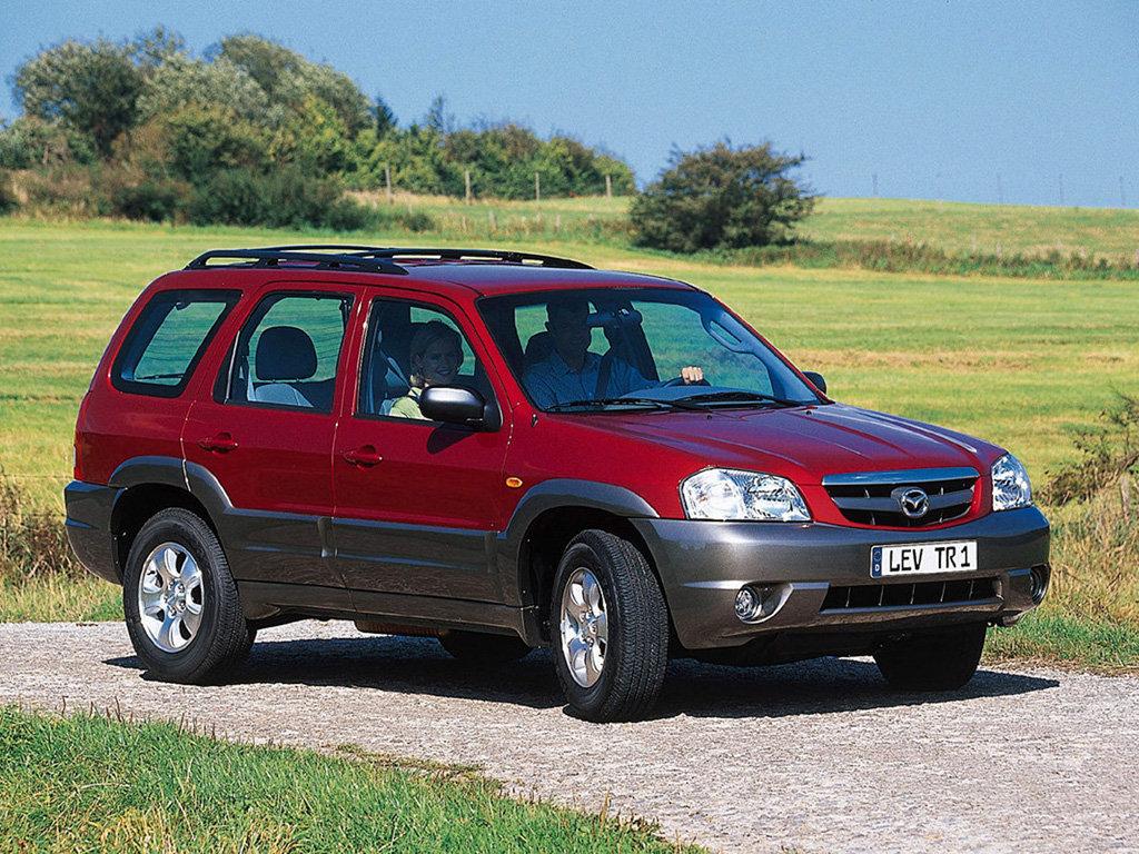 Фотографии Mazda Tribute (2000-2…
