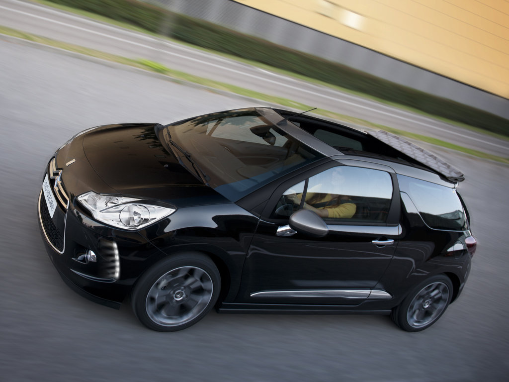 Фотографии Citroen DS3 Cabrio Фотогр…