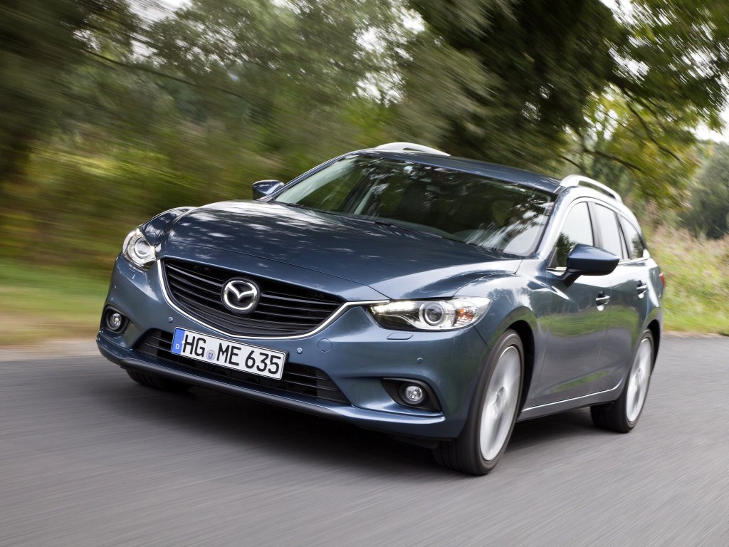 Фото Mazda 6 Wagon.