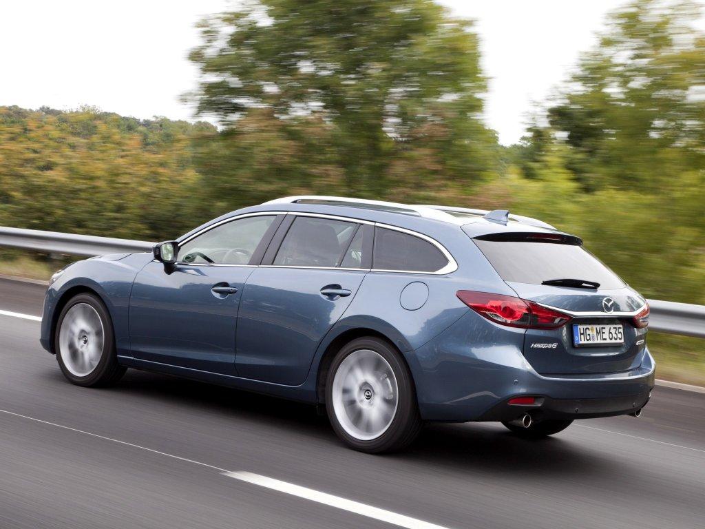 Обзор Mazda 6 Wagon 2013 - новый…
