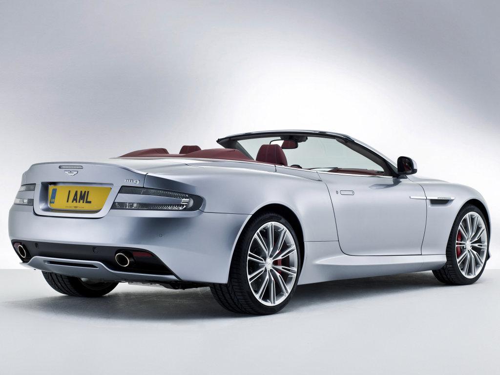 Фотографии Aston Martin DB9 Volante …