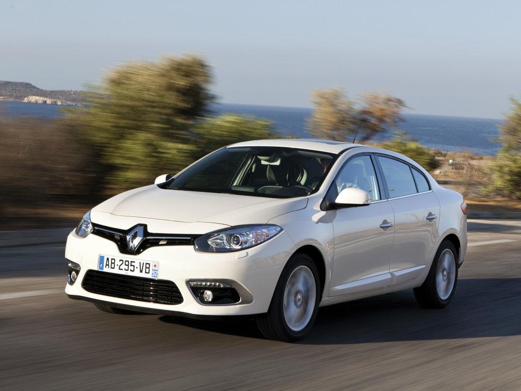 Новый Renault Fluence.