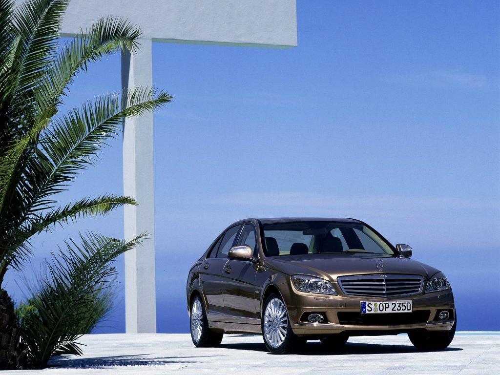 Mercedes-Benz, C-Class, авто, ма…