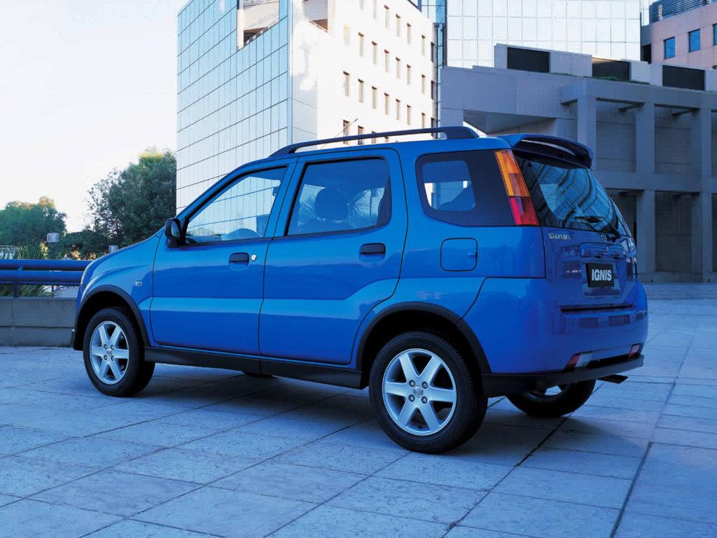 Ignis Suzuki фото.