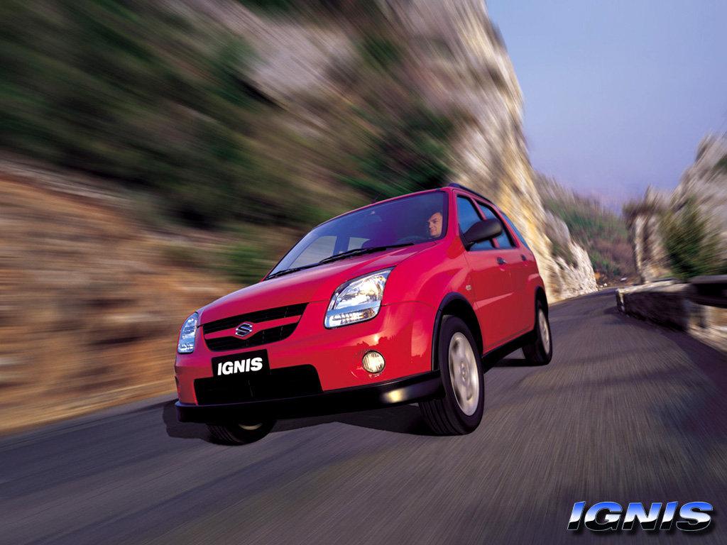 Фото 2003 Suzuki Ignis (Хетч…