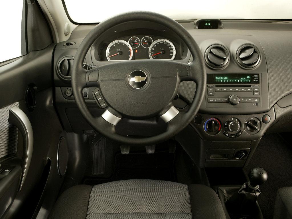 Интерьер Chevrolet Aveo.