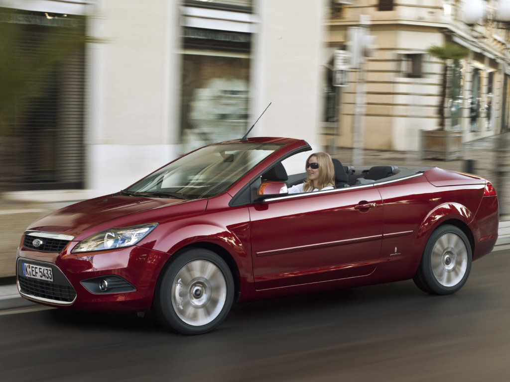 Ford Focus Cabriolet: Фото 08.
