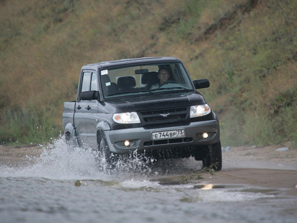 Фотографии УАЗ Pickup Фотография #5 …