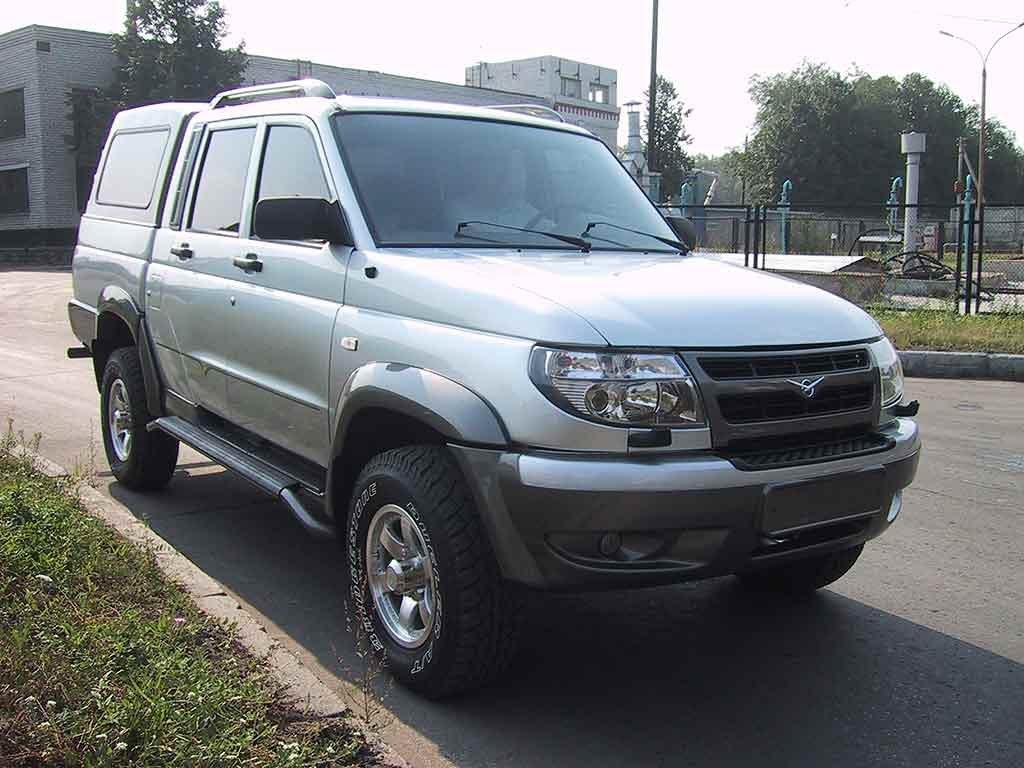УАЗ Pickup (Галерея фото: Ав…