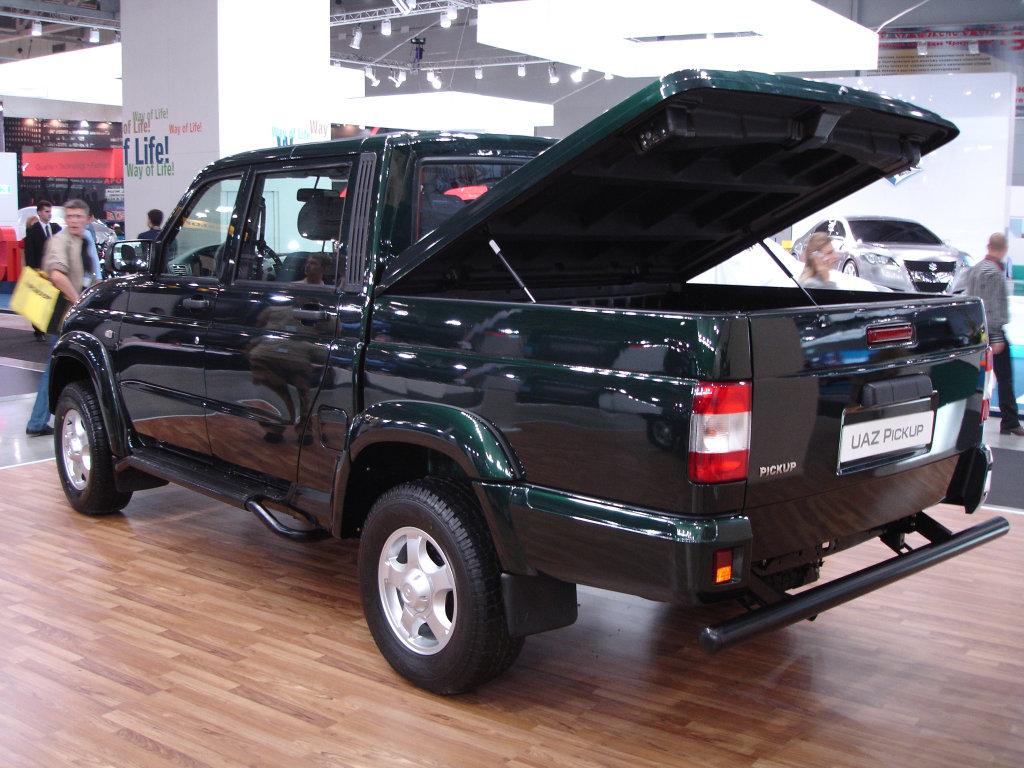 Фотография автомобиля УАЗ Pickup…