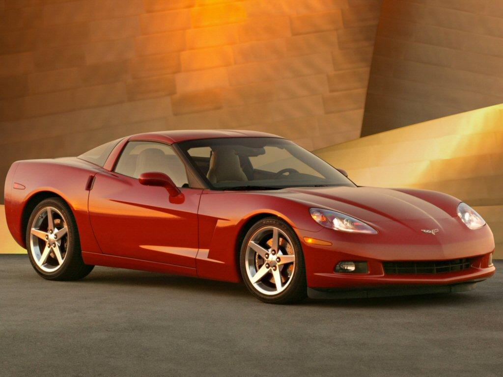 Фото Chevrolet Corvette.