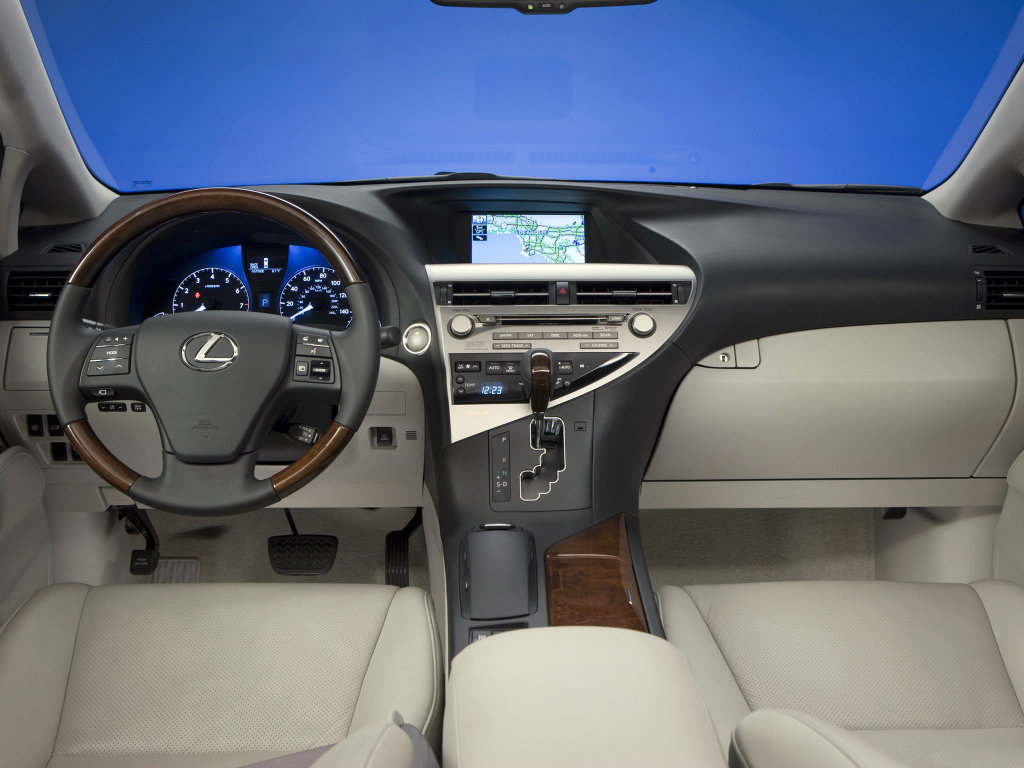 2010 Lexus RX 350 and RX 450H Photo …