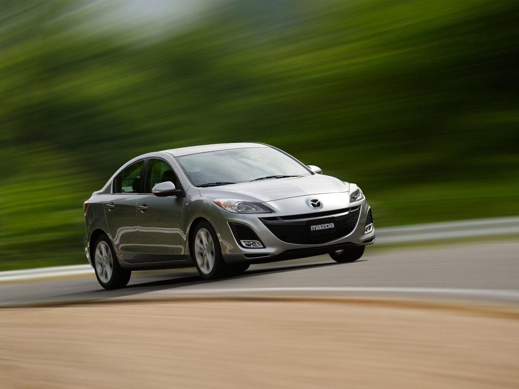 Новая Mazda 3. Фото Mazda.
