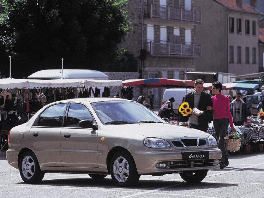 Daewoo Lanos Sedan 1997.