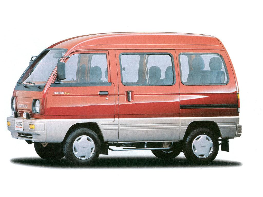 Фотографии автомобилей Daewoo Damas / Дэу Дамас (1991 - 2005 ...