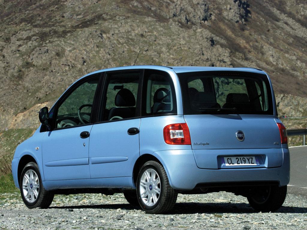 Fiat Multipla 2004 Обои на рабоч…