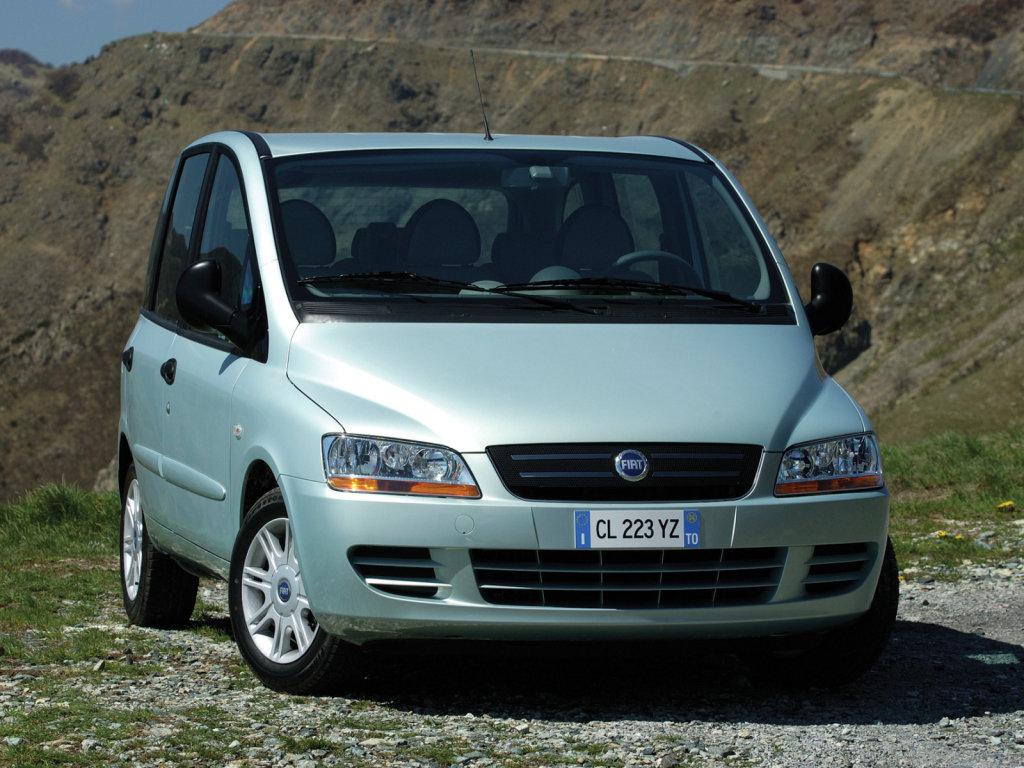 Фотографии автомобилей Fiat Multip…