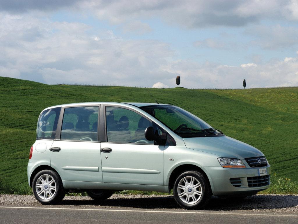 фотографии обои /Fiat Multipla.
