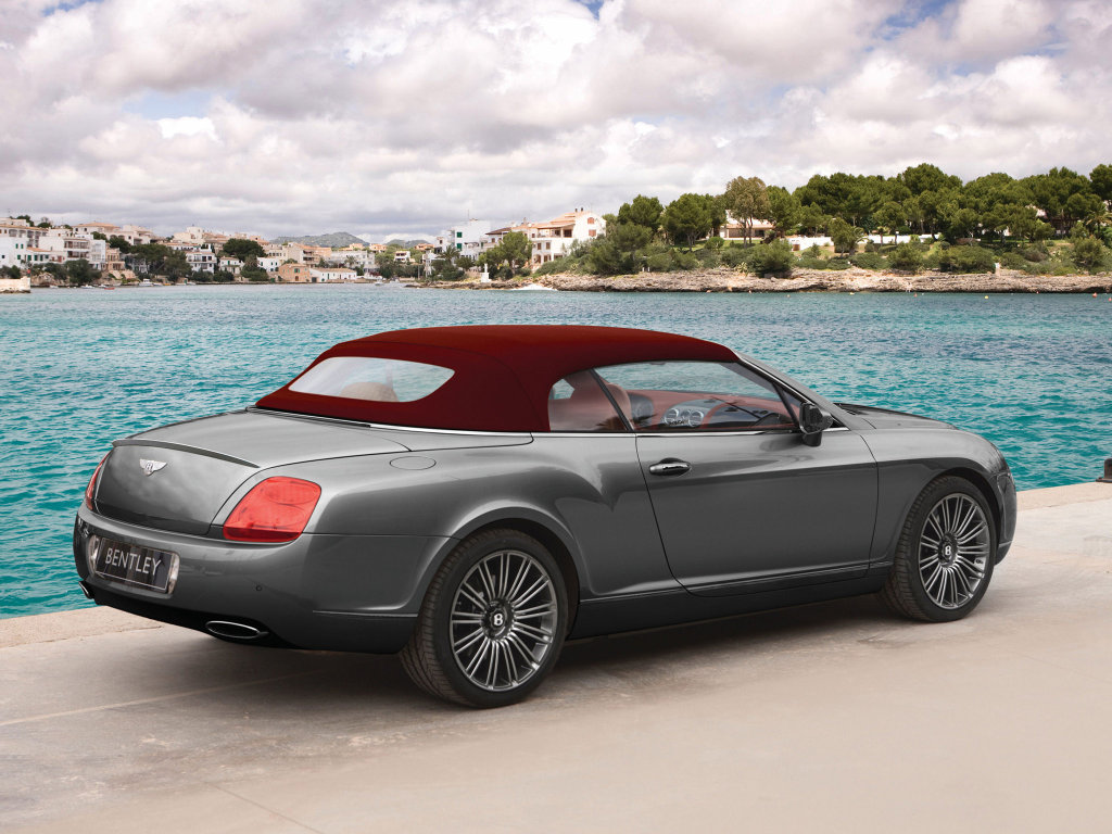 Bentley Continental GTC Speed Фото…