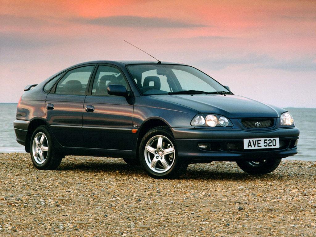 Тойота авенсис 1997 2000 хэтчбек 5 дв