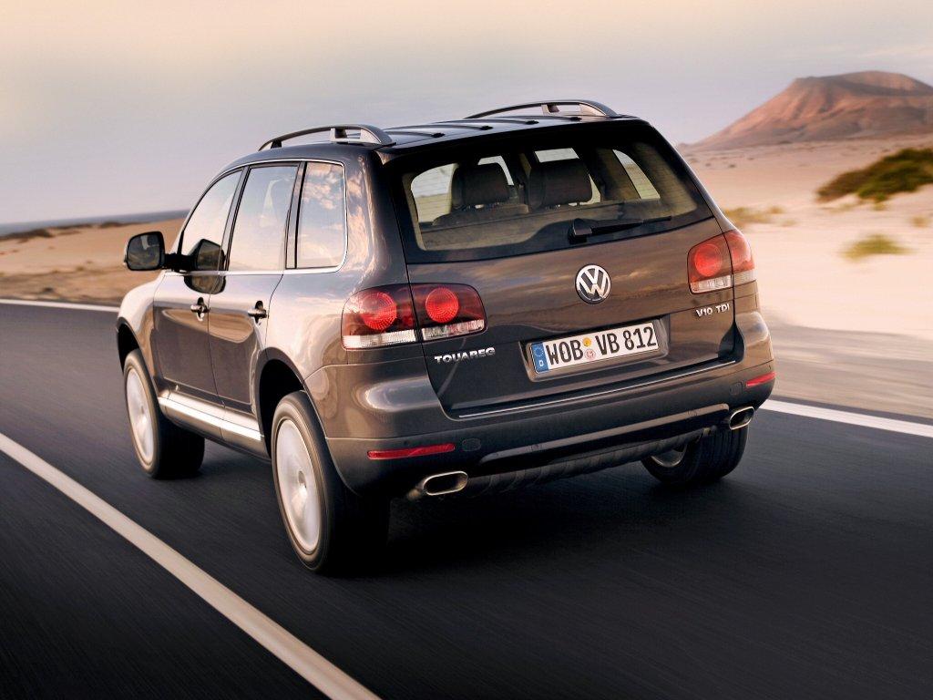 Volkswagen Touareg 2007-2010 ф…