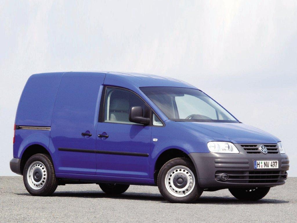 Фотографии Volkswagen Caddy Kast…
