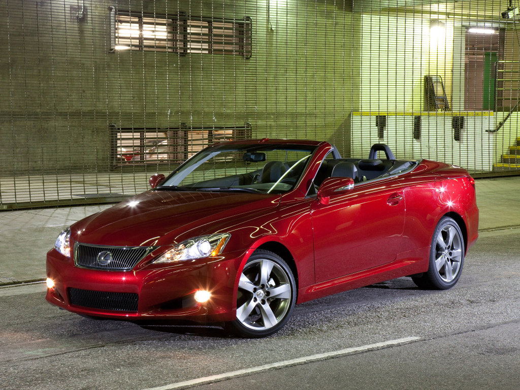 Lexus 2009 IS250C convertible Кр…