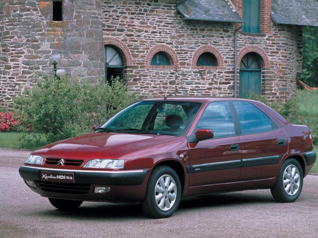 Модель авто Citroen Xantia была …
