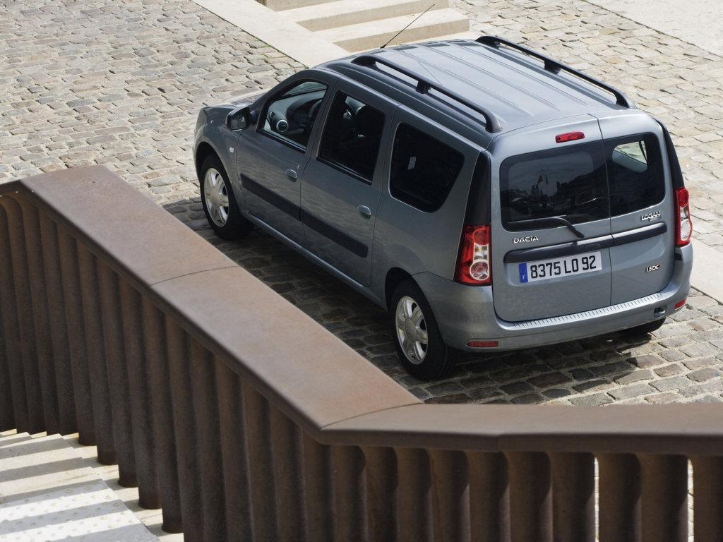 фото Dacia Logan MCV 9.