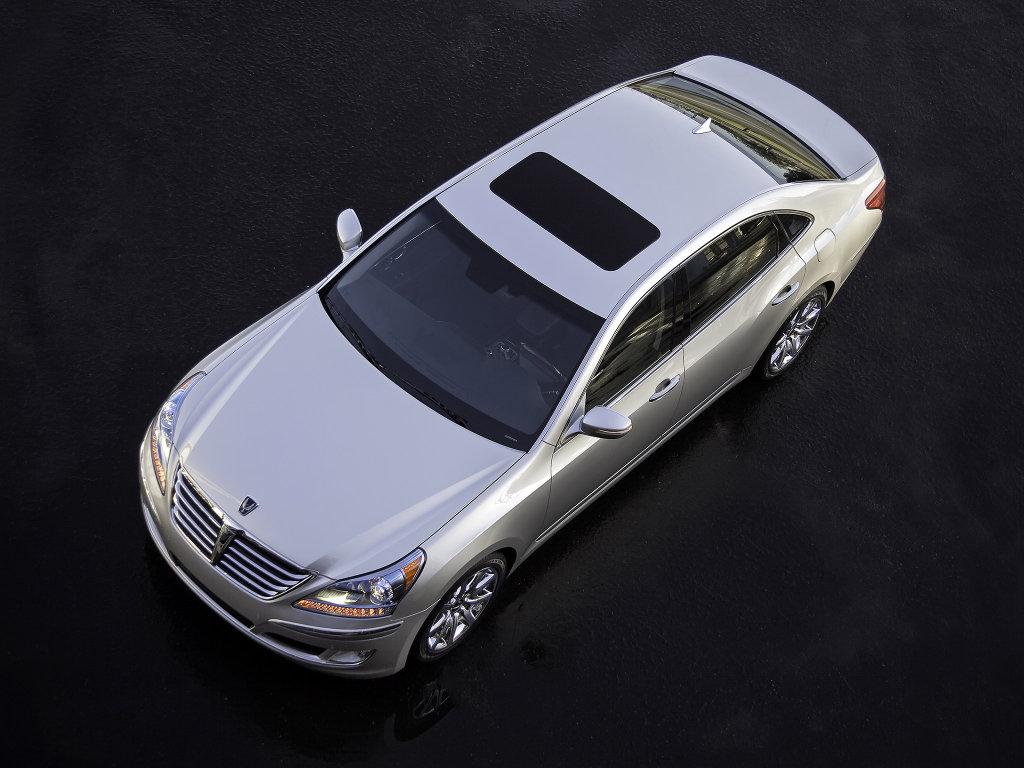 Фото Обновленный Hyundai Equus в…