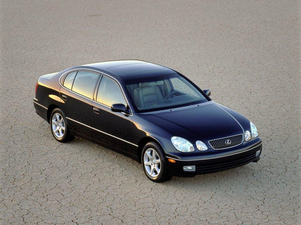 История Lexus GS.
