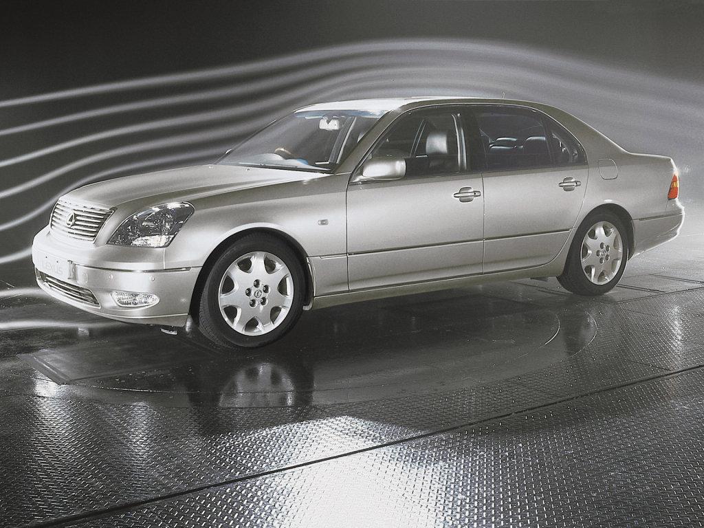 85. Кузов и габариты Lexus LS …