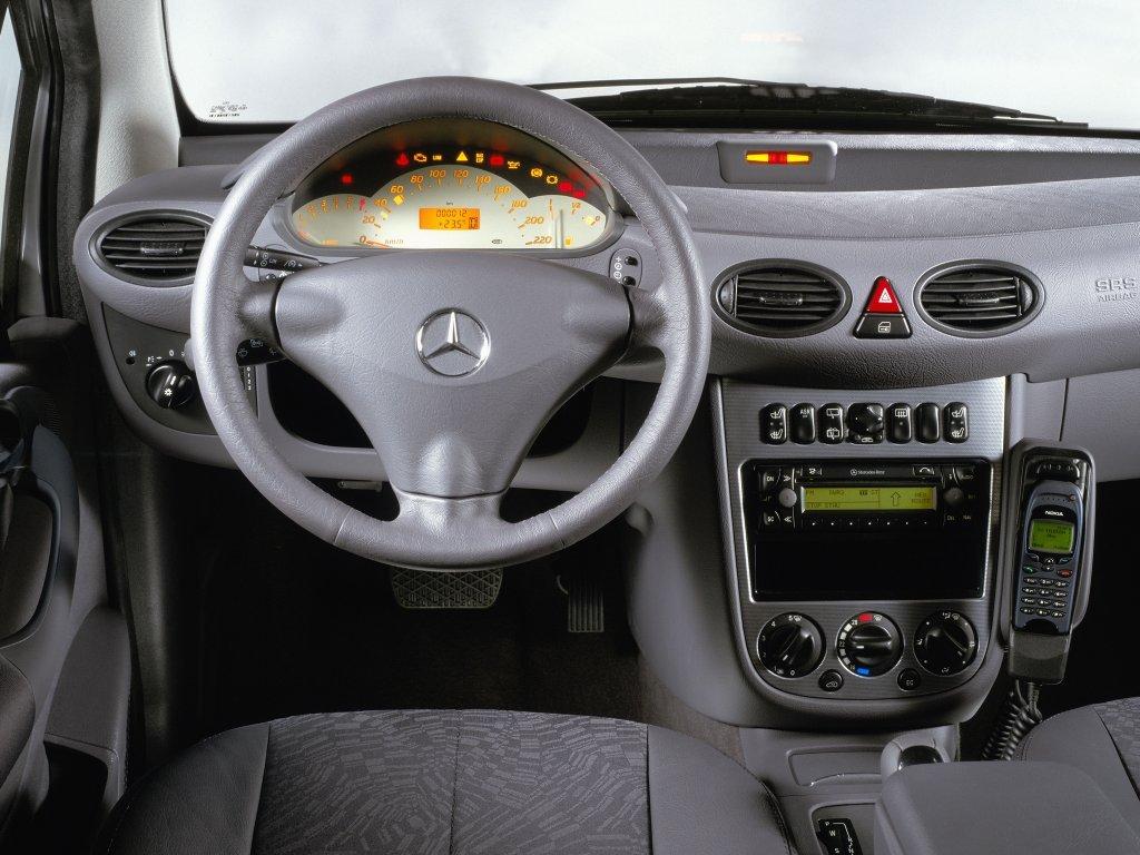 Фото Mercedes A-class W168 5…