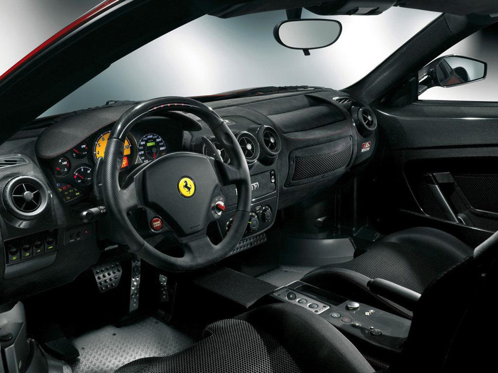 Следующая Ferrari F430 Scude…