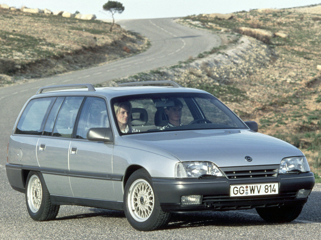 Opel Omega Caravan.