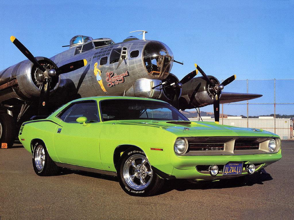 Фото Plymouth Barracuda 1970.