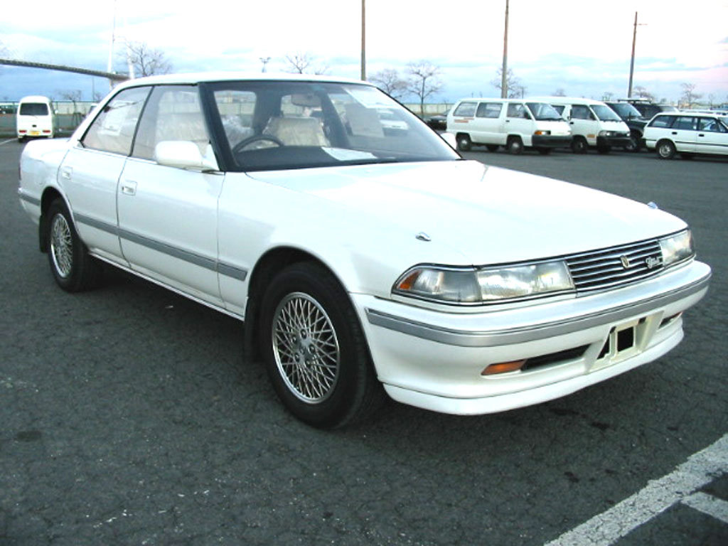 Фотографии Toyota Mark II.