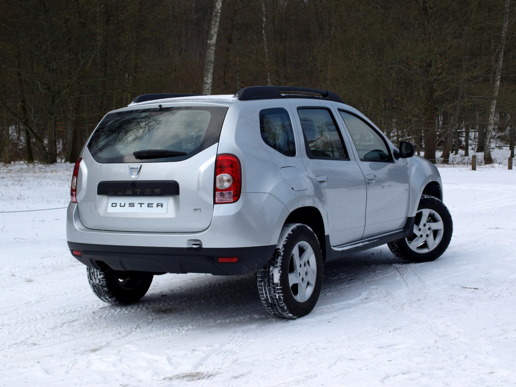 Кроссовер Dacia Duster ( Renault D…