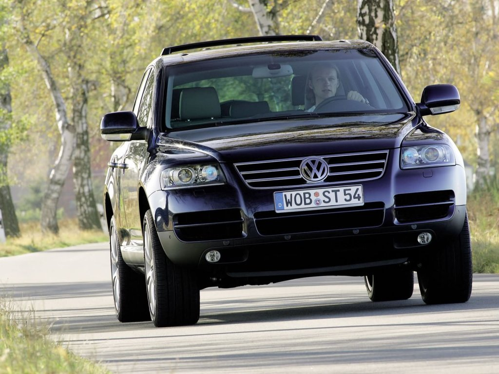 Автокаталог Volkswagen Touareg Tou…