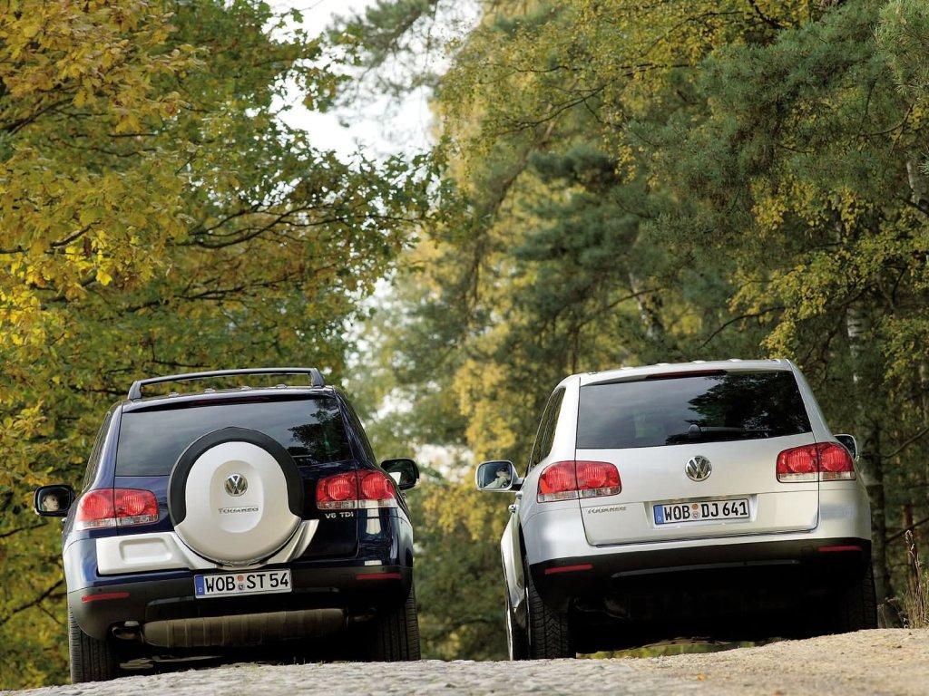 фото Volkswagen Touareg V6 TDI 2…